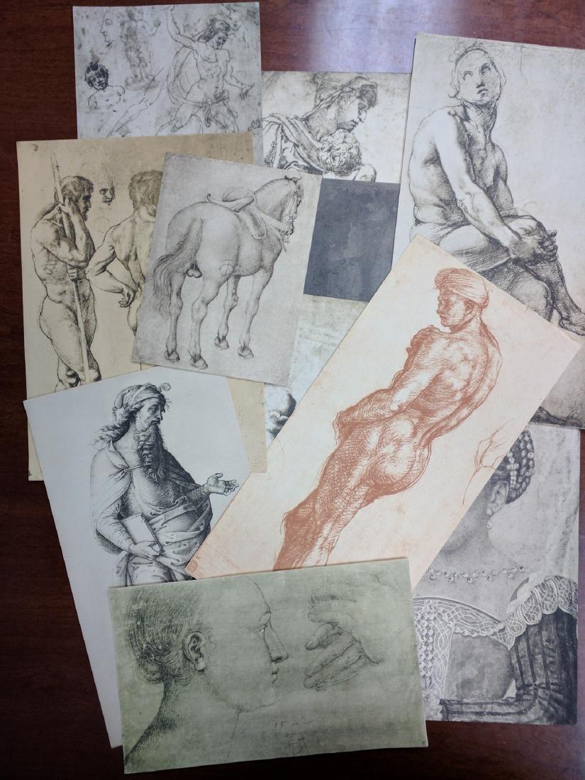 Collection of Prints Disegni Dei Grandi Maestri