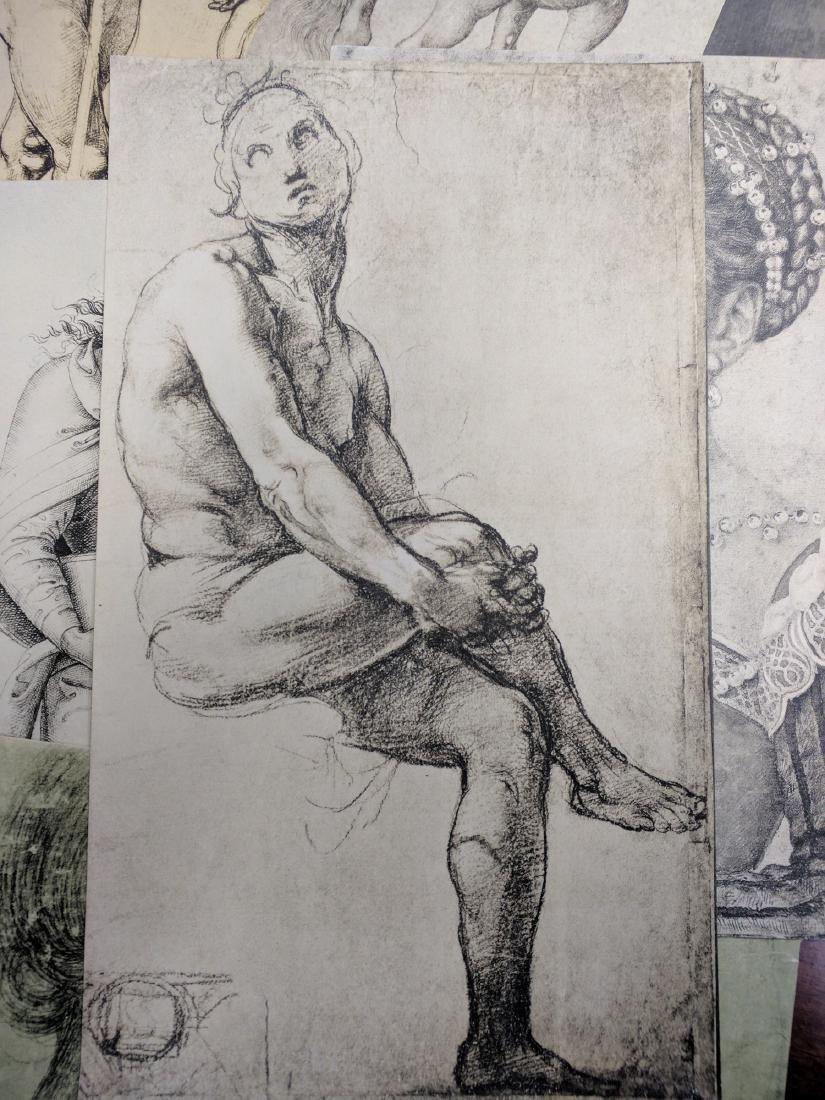 Collection of Prints Disegni Dei Grandi Maestri - 5