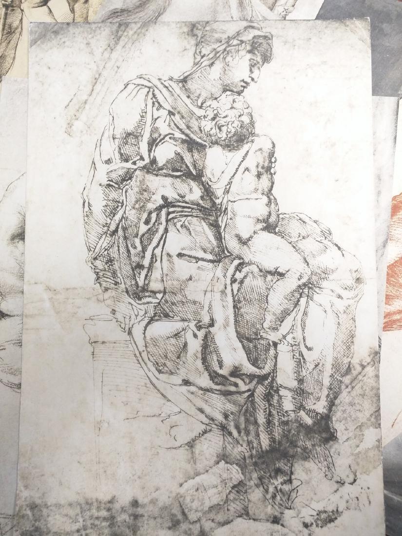Collection of Prints Disegni Dei Grandi Maestri - 6