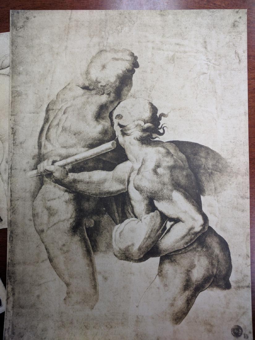 Collection of Prints Disegni Dei Grandi Maestri - 7