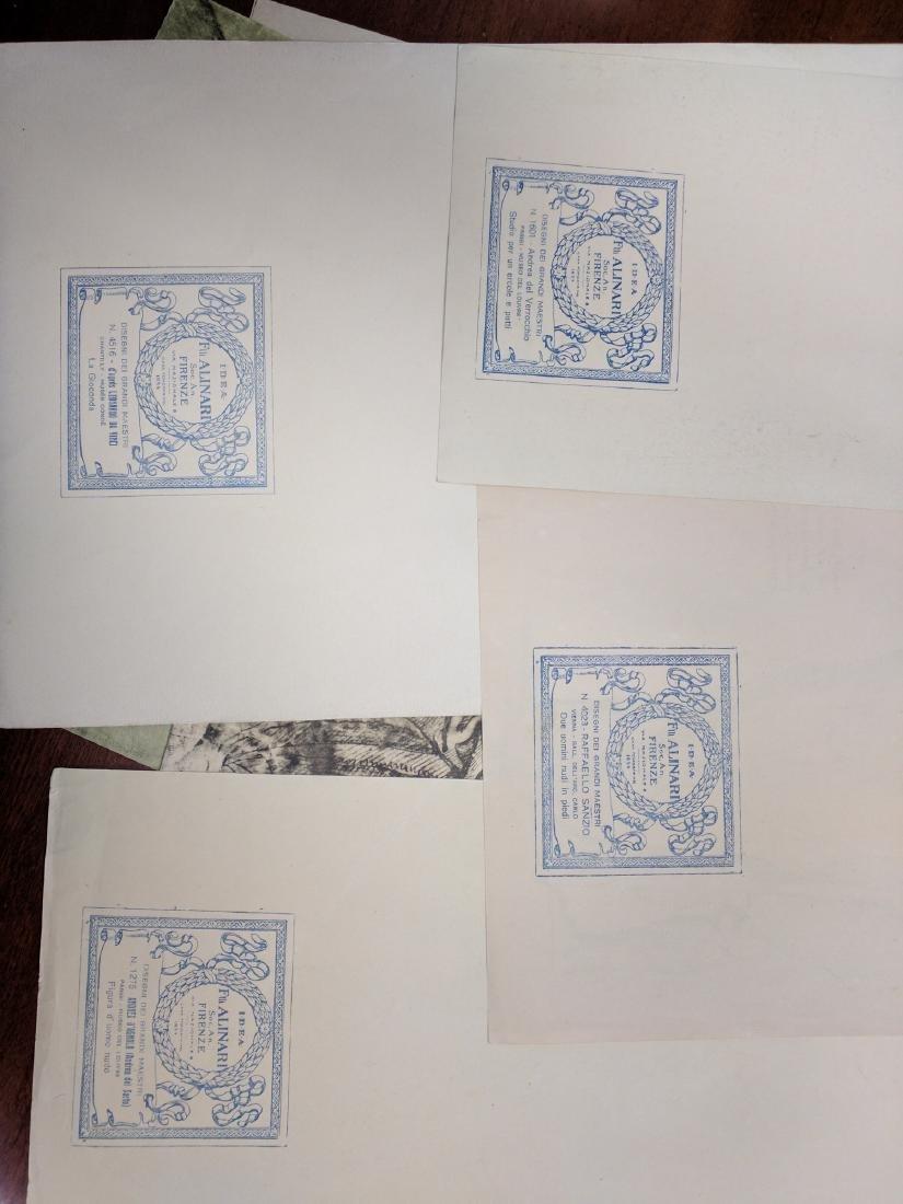 Collection of Prints Disegni Dei Grandi Maestri - 8