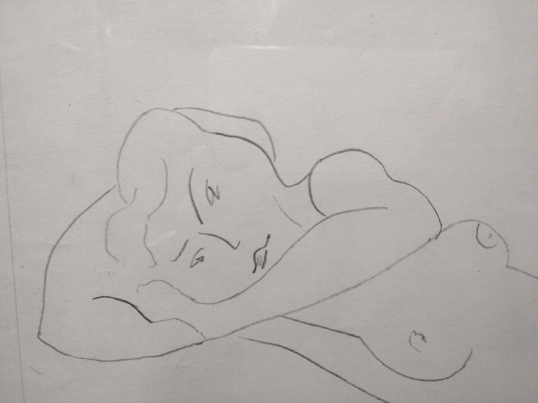 Pencil Drawing After Henri Matisse - 4