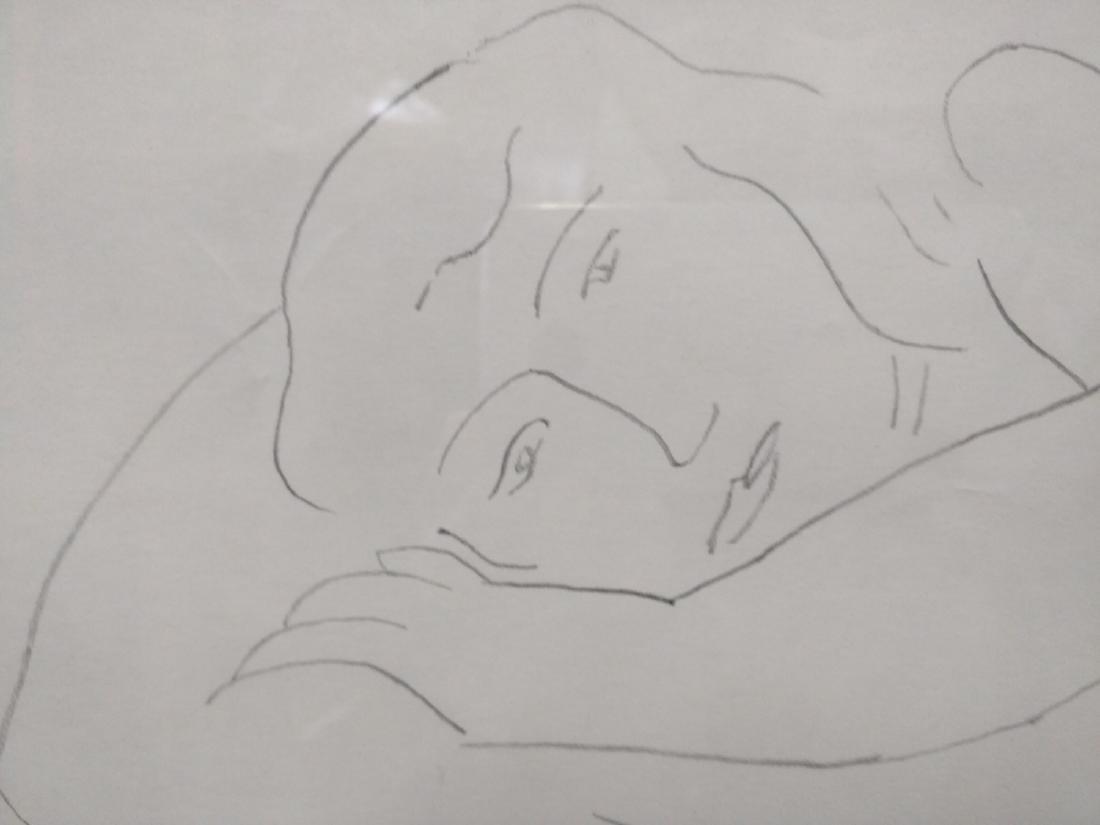 Pencil Drawing After Henri Matisse - 5