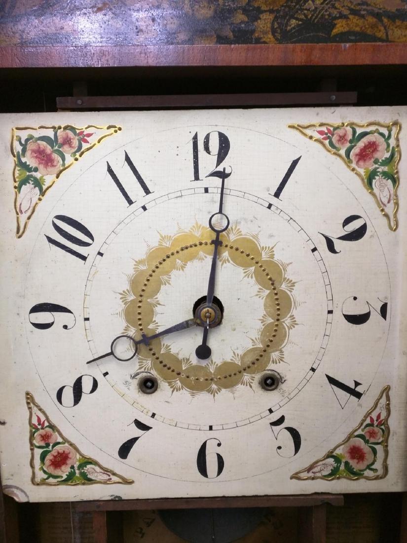 CIRCA 1825 ELI TERRY JR., A CARVED MAHOGANY SHELF CLOCK - 3