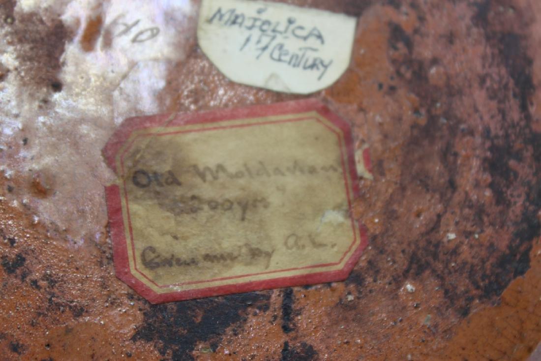 17 Century Italian Majolica plate - 3