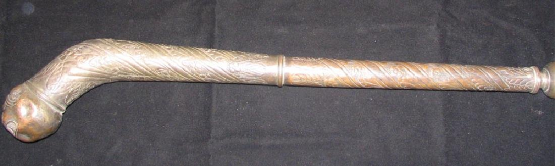 Late 19th Century Mace from India - 8