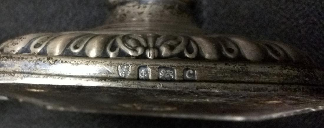 Pair 19 Century Birmingham (English) Starling Silver - 4