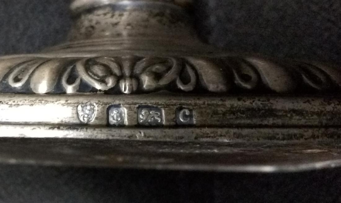 Pair 19 Century Birmingham (English) Starling Silver - 5