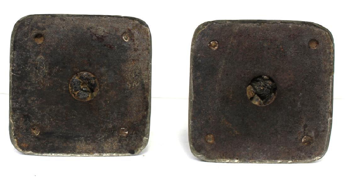 Pair 19 Century Birmingham (English) Starling Silver - 7
