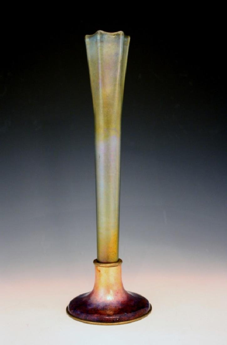 Louis Comfort Tiffany Furnaces Vase