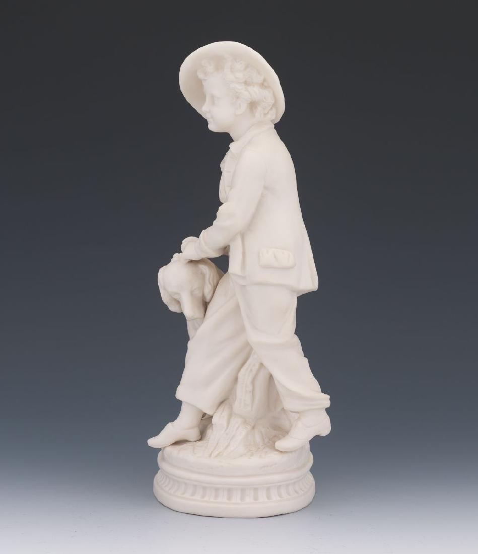 A French 19 century Sevres White Parisian Figure of a - 2