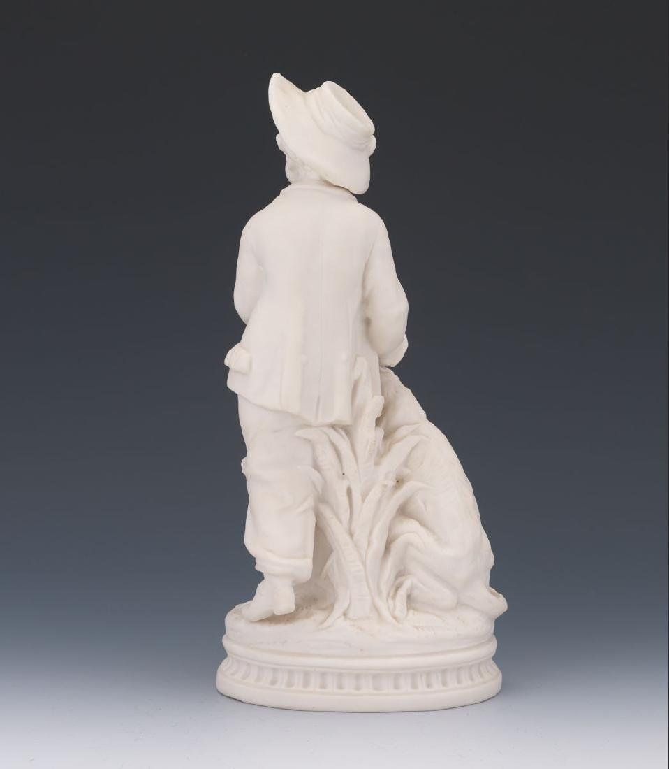 A French 19 century Sevres White Parisian Figure of a - 3