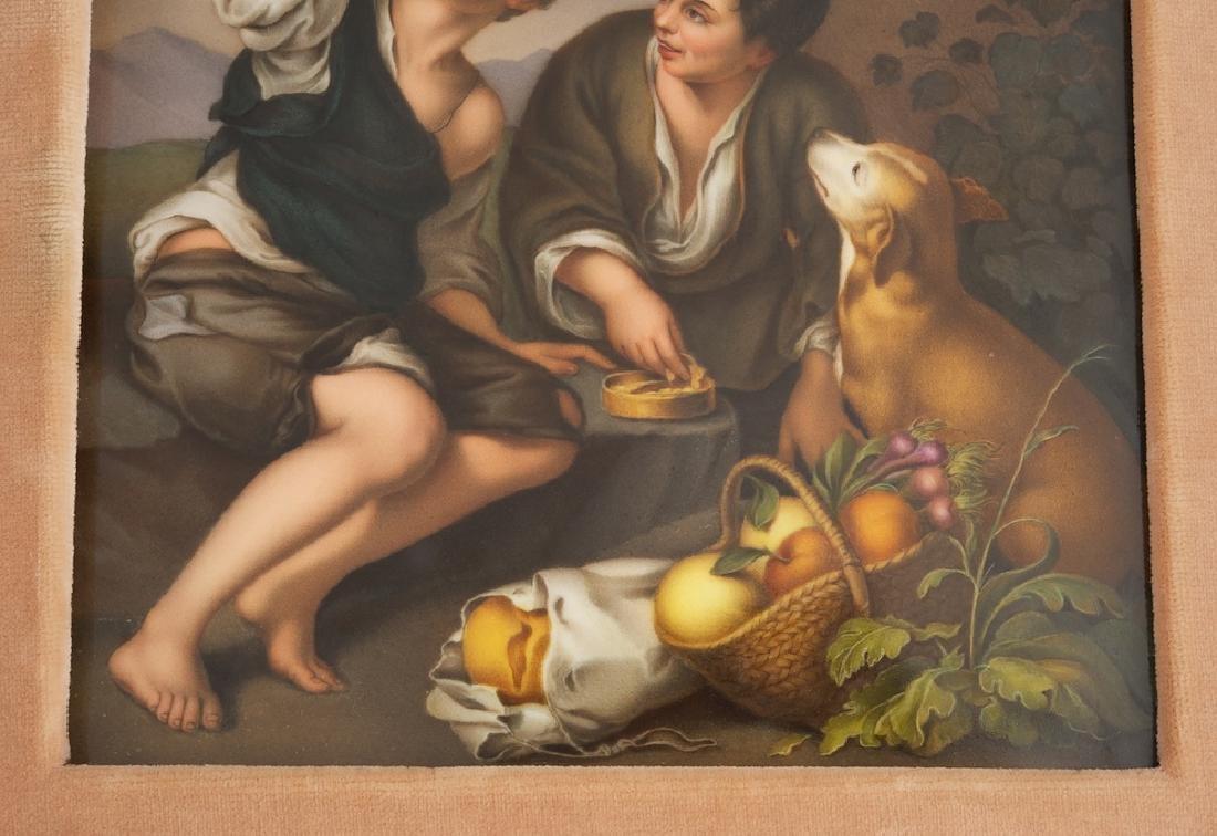 19 Century German KPM Hand Painted Porcelain Plaque - 2