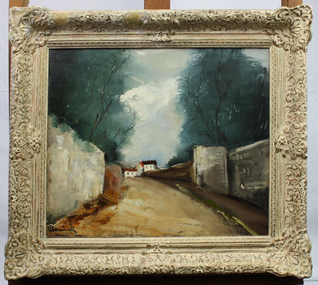 Maurice de Vlaminck French Oil On Canvas Painting