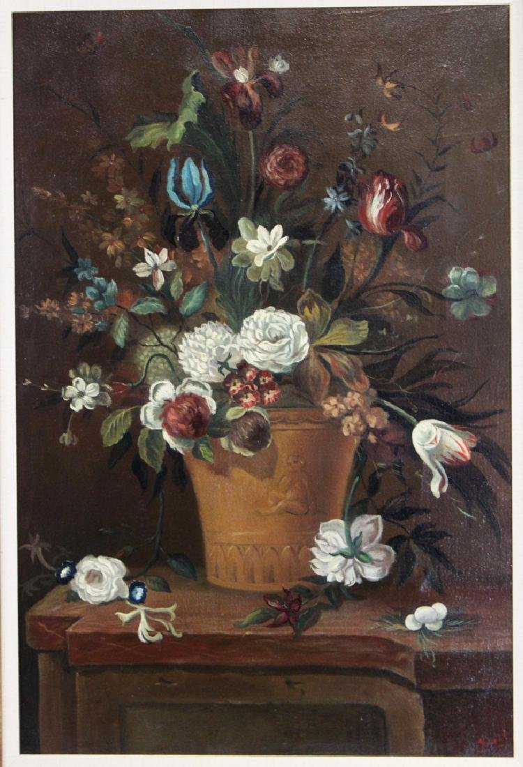 Oil on Canvas Spanish Still Life Painting by Ira Monte - 2