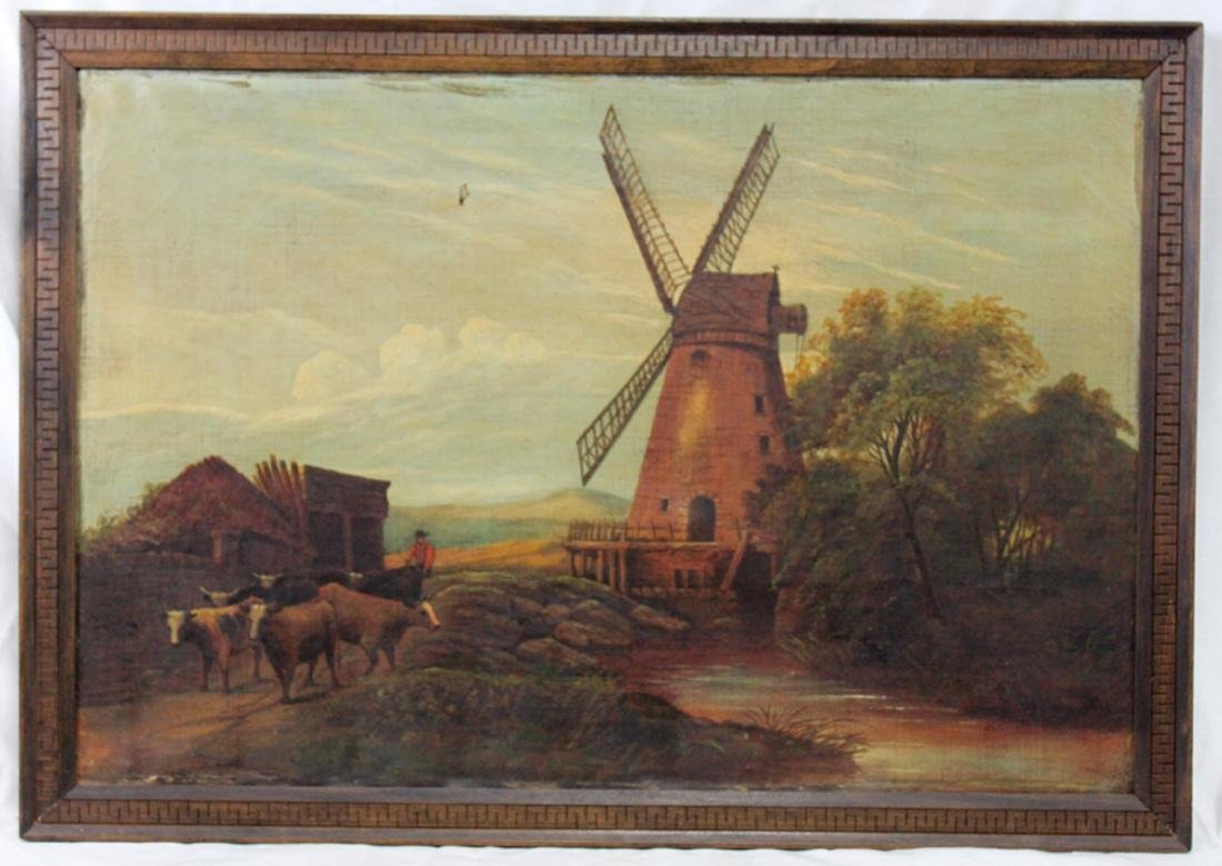Continental School early 20th Century Oil on Canvas