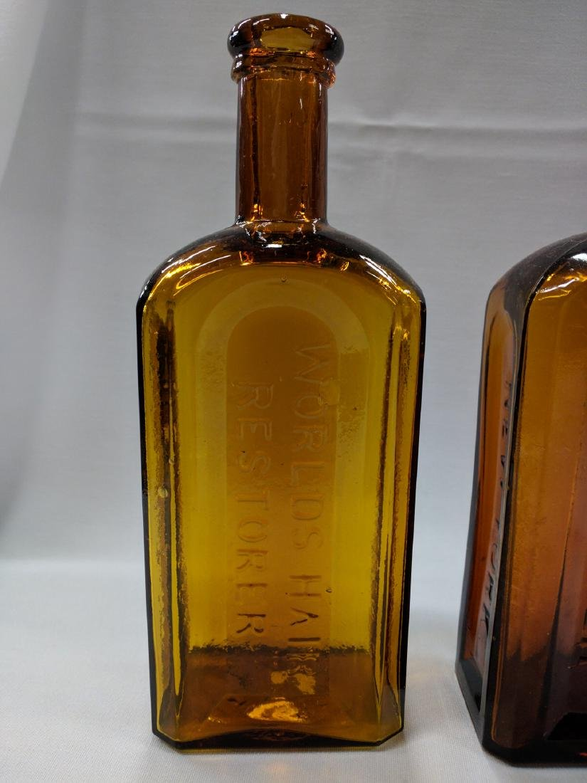 Two American Glass Bottles - 2