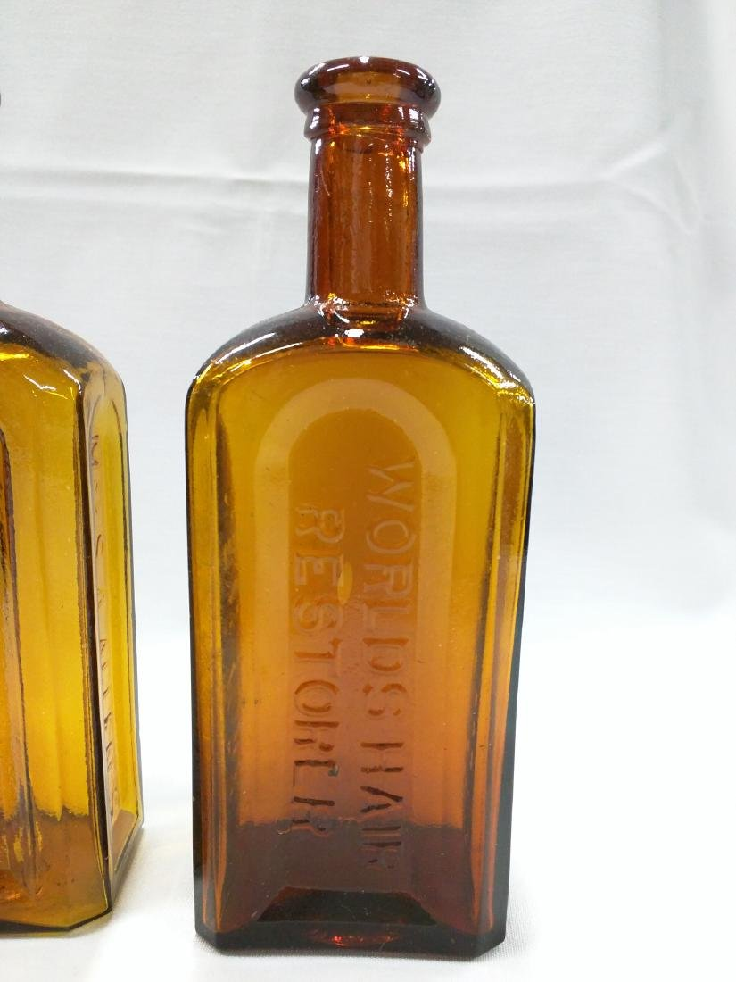 Two American Glass Bottles - 3