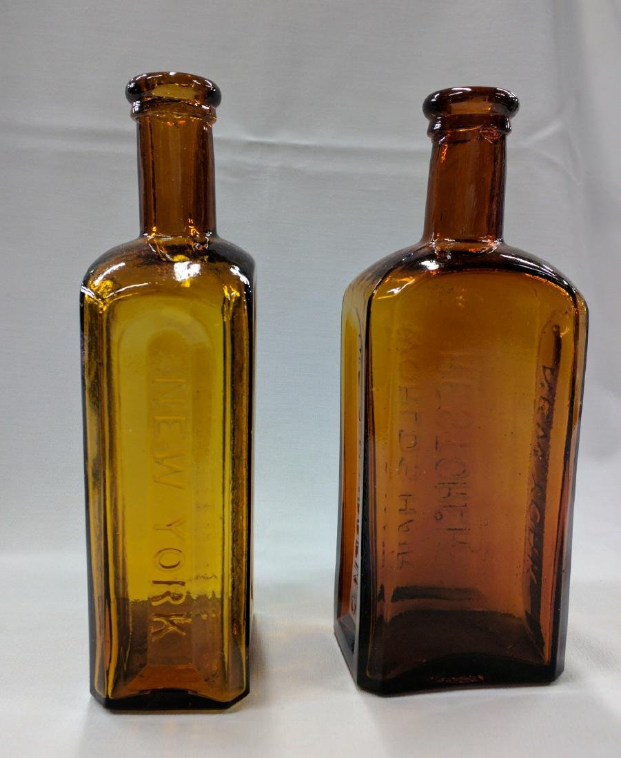 Two American Glass Bottles - 4