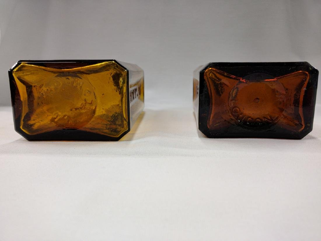 Two American Glass Bottles - 5