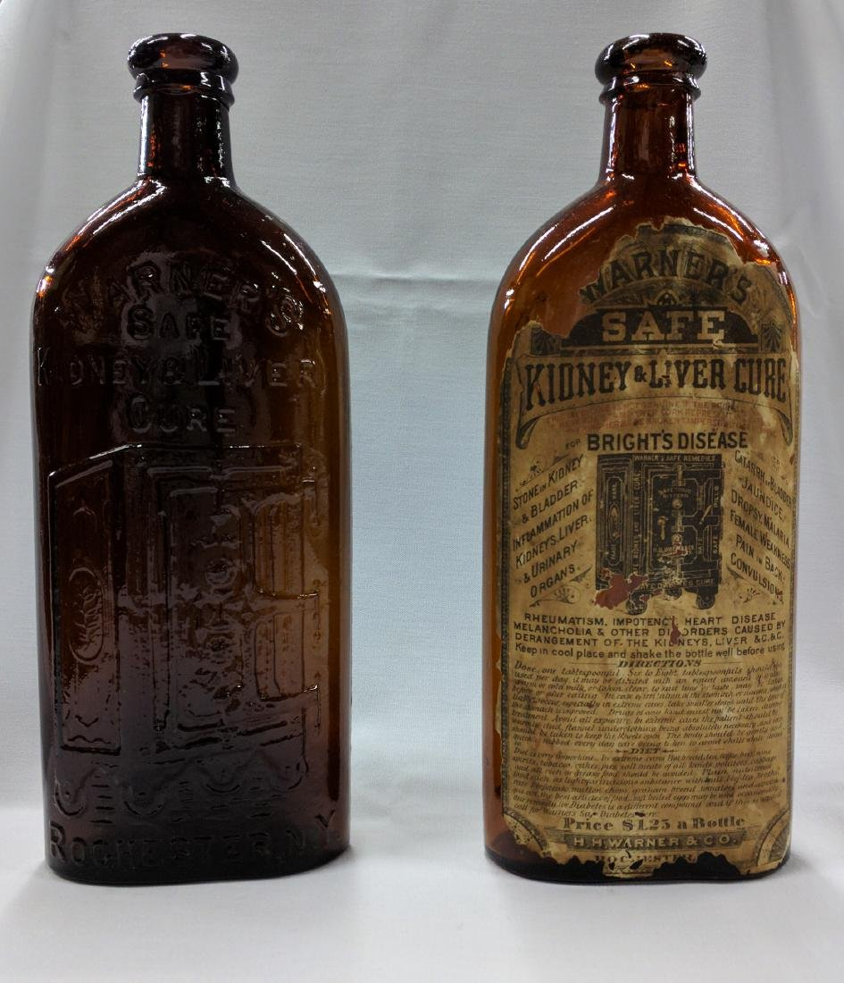 Two American Glass Bottles