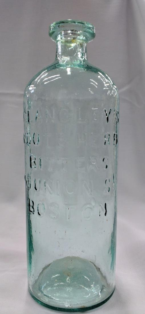 Two American Medicines Glass Bottles - 3