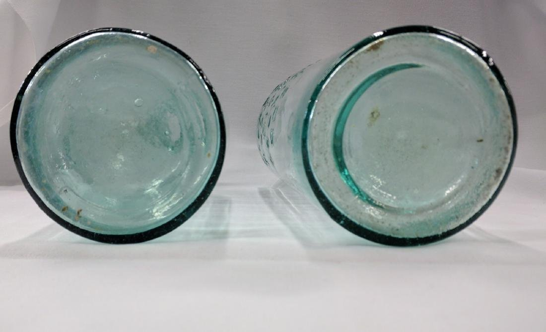 Two American Medicines Glass Bottles - 4