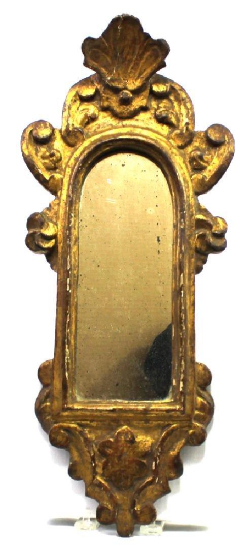 Italian 18 Century Framed Mirror - 2