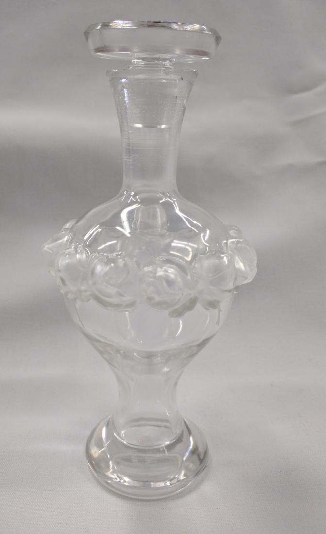 Lalique Crystal Perfume Bottle