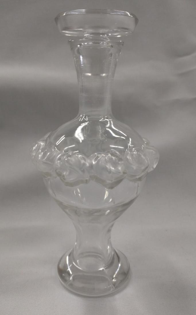 Lalique Crystal Perfume Bottle - 2