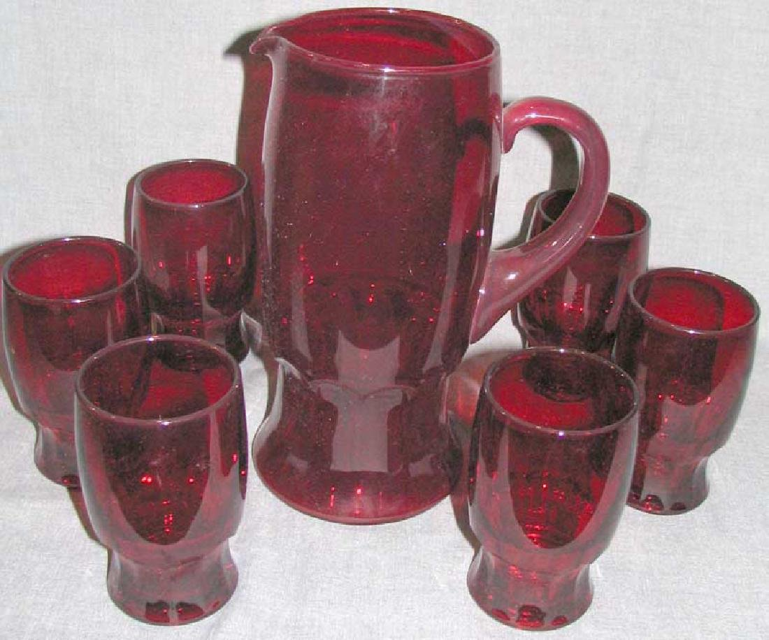 Set of six Cups & Pitcher & Pair of Vase - 2