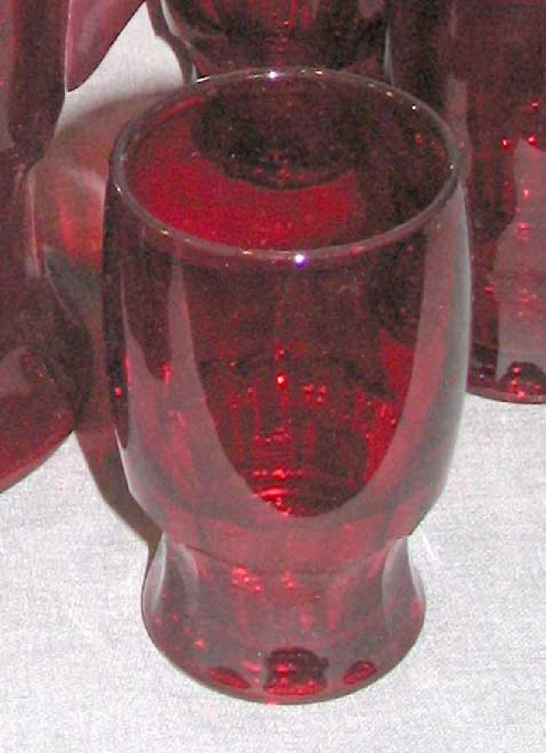 Set of six Cups & Pitcher & Pair of Vase - 4