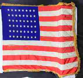 American Silk Flag 48 stars