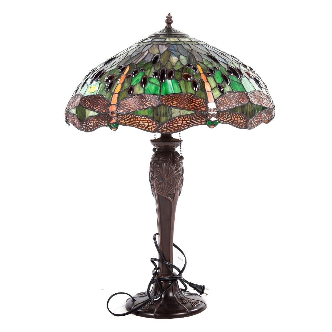 Reproduction Tiffany Studios Dragon Flay Table Lamp
