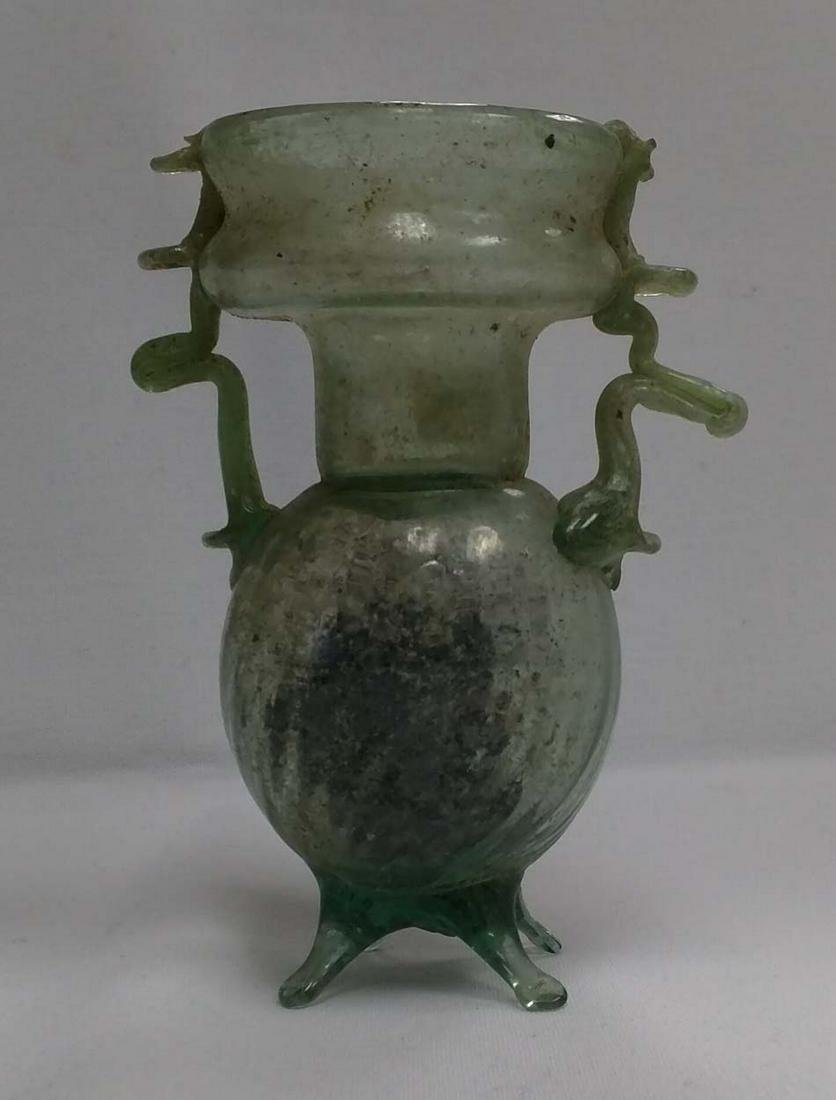 Roman 3rd - 2nd Century B.C. Glass Vase