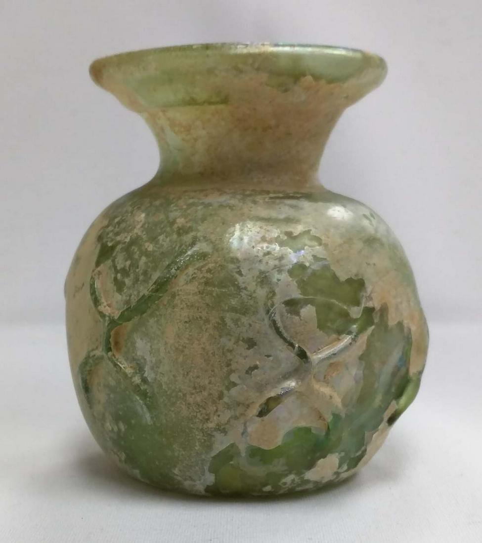 Roman 3rd - 2nd Century B.C Glass Vase