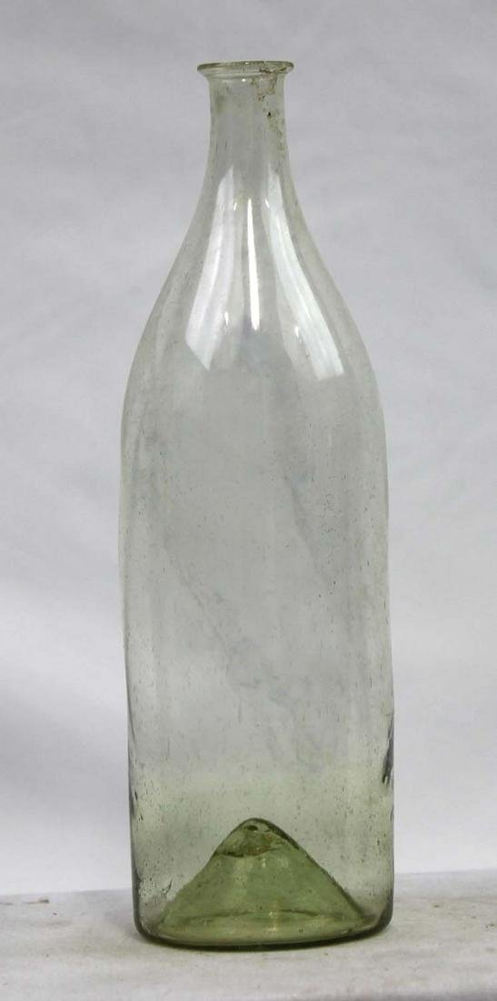 Italian Circa 1750 Glass Liquor Bottle