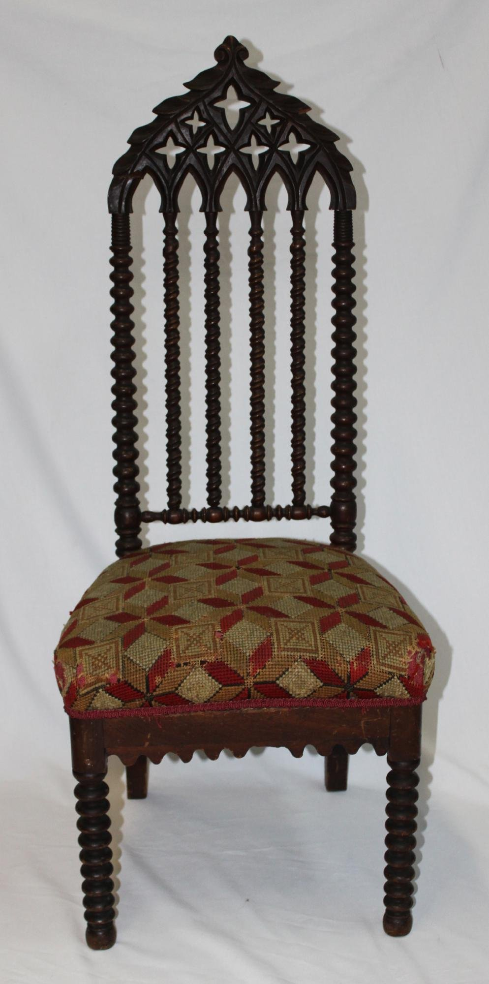 Probably 16 th Century Gothic Chair