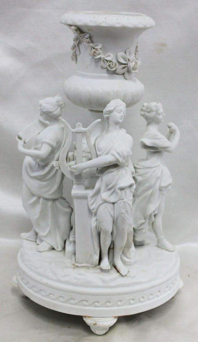 19 Century French Porcelain Planter.
