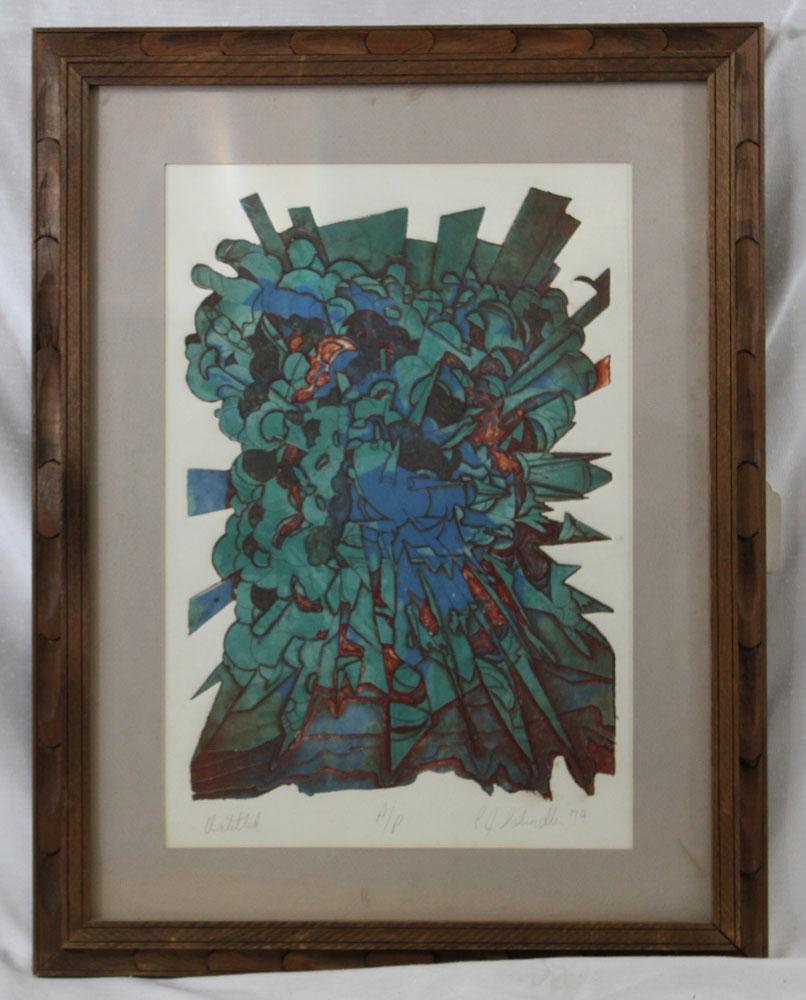 R. D Schimall Artist Proof Signed Limited Edition