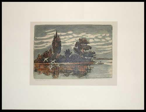 Limited Edition Etching Signed and Numbered