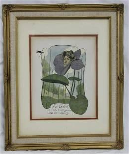Print Lithograph by John Cecil Clay