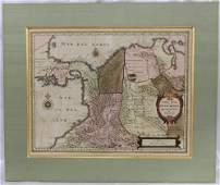Blaeu�s Map of Panama, Colombia Blaeu, Joan, 1596-1673