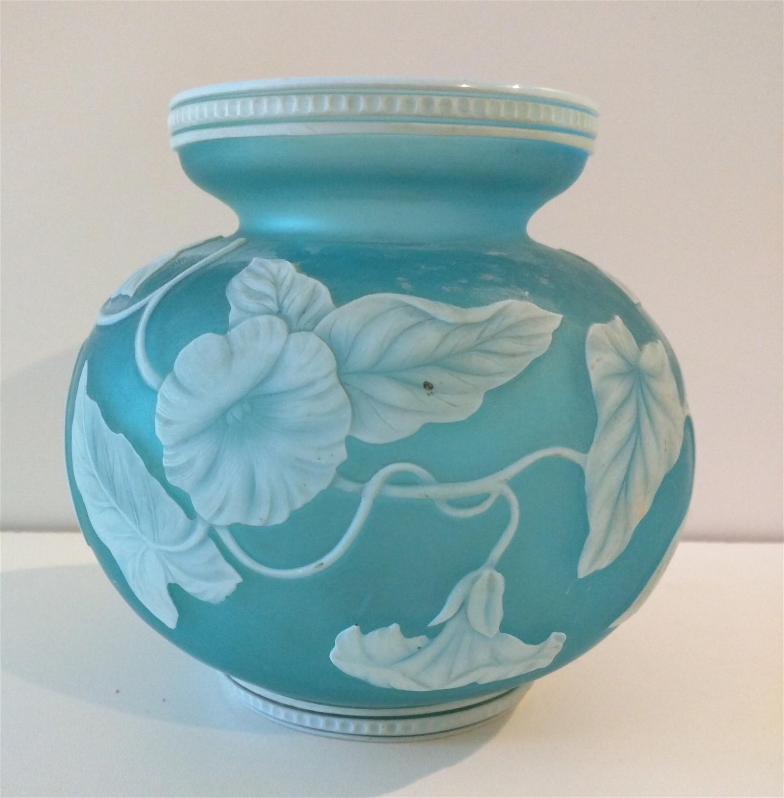 1920's English Cameo Glass Attributed to Webb