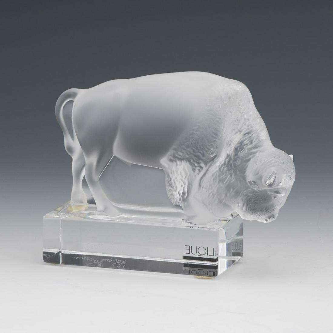 Crystal Lalique Crystal Bison