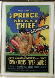 LARGE UNIVERSAL MOVIE POSTER 1951