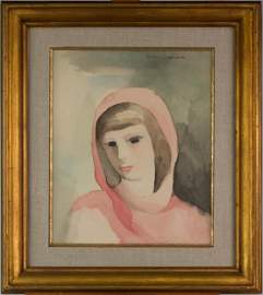 Marie Laurencin (French, 1883-1956) - Jeune fille en