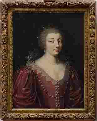Claude Deruet (Nancy, circa 1588-1660)  - Portrait of a