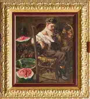 Vincenzo Irolli (Italian, 1860-1942) - A young boy