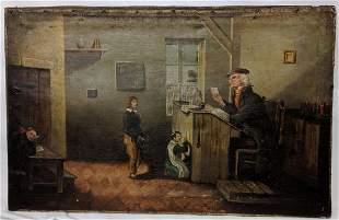 French School (19th Century) – Classroom Scene